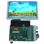 5 inch HSD050IDW1 800×480 High Resolution Tft VGA+2AV+Reversing driver board