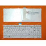 Toshiba Satellite C855-5233 Beyaz Türkçe Notebook Klavyesi