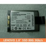 "Lenovo SATA 1.8"" Solid State 80GB SSD 41W0524 45N8017 3Gb/s intel SSDSA1M080G2LE"